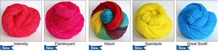 Fall 2015 Colours from Ancient Arts Yarns - Nostalgia-inspired