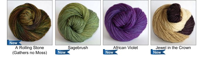 Fall 2015 Colours From Ancient Arts Yarns - Nature Inspired