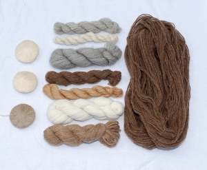 The bison (and other handspun exotic fibre yarns) that started it all!
