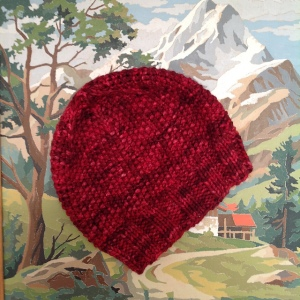 Stellar Hat - Free Knitting Pattern in Big Squeeze Yarn from Ancient Arts