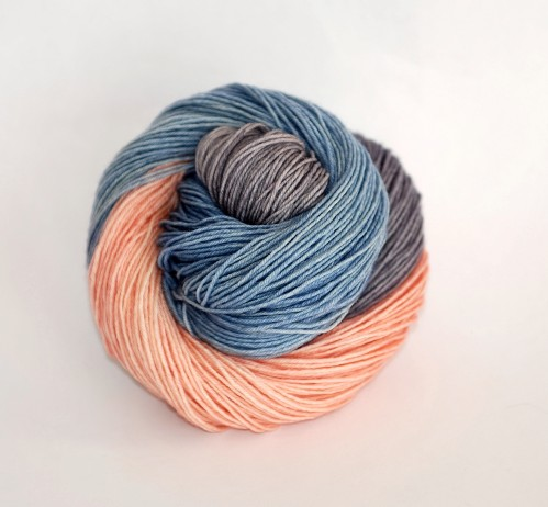 Art Deco by Ancient Arts Yarn, inspired by the 2016 Pantone Colour of the Year