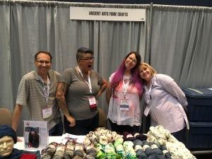 L-R: Dan, Caroline D, Caroline S & Carol Sulcoski at Sample It!
