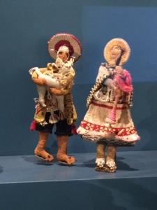 Quechua male & female dolls, 1910-1920, Peru