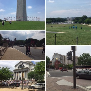 Ancient Arts tours the National Mall in Washington DC for TNNA