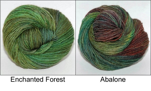 Learn about how these two colours evolved on the Ancient Arts Yarn blog!