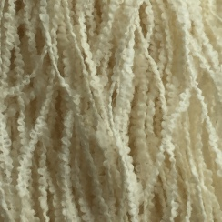 Undyed so we can see the yarn structure before it fluffs